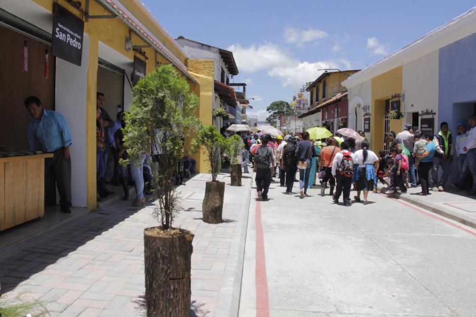 La obra tuvo una duración de más de 20 días. (Foto: Fredy Hernández/Soy502)