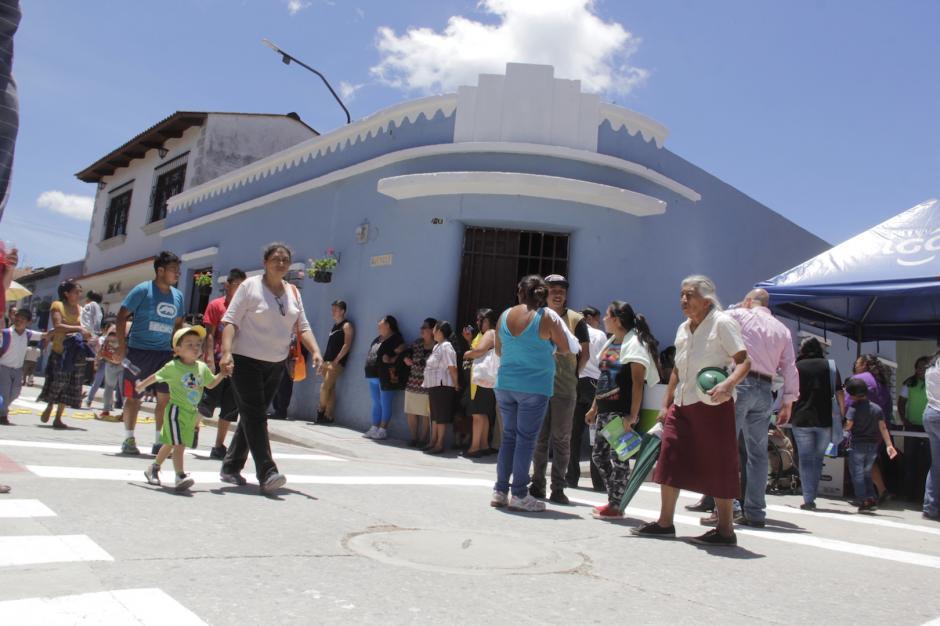 Los vecinos de la Calle Real esperan ver florecer nuevamente este sector. (Foto: Fredy Hernández/Soy502)