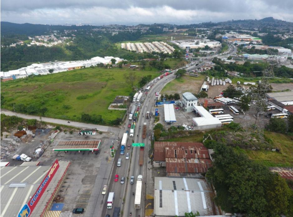 El tráfico de este jueves es intenso. (Foto: Amilcar Montejo/PMT)
