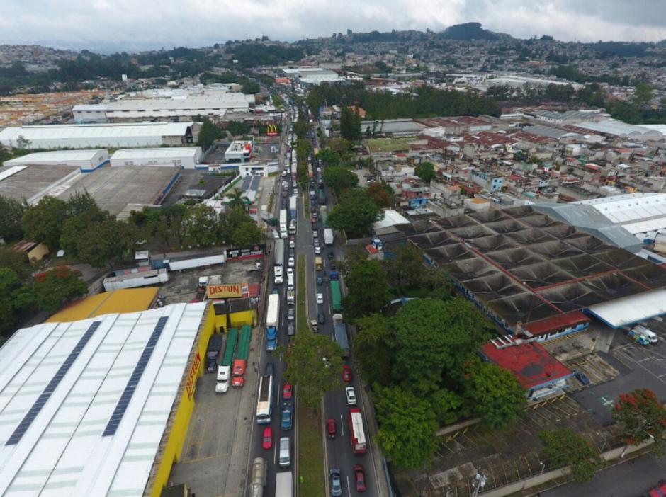 Según la PMT el tráfico impactó en varios municipios. (Foto: Amilcar Montejo/PMT)