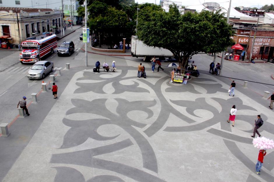 La plaza ofrece más espacio a los transeúntes. (Foto: Fredy Hernández/Soy502)