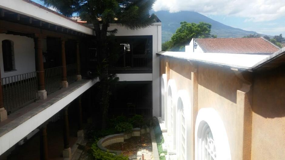 La propiedad está vinculada a la exvicepresidenta Roxana Baldetti. (Foto: MP)