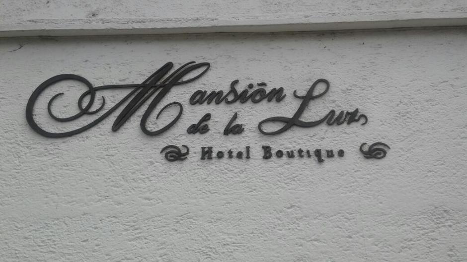 El hotel Mansión de la Luz no está activo. (Foto: MP)