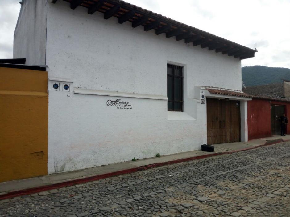 El inmueble se ubica en la 3.ª calle Oriente de la ciudad colonial. (Foto: MP)