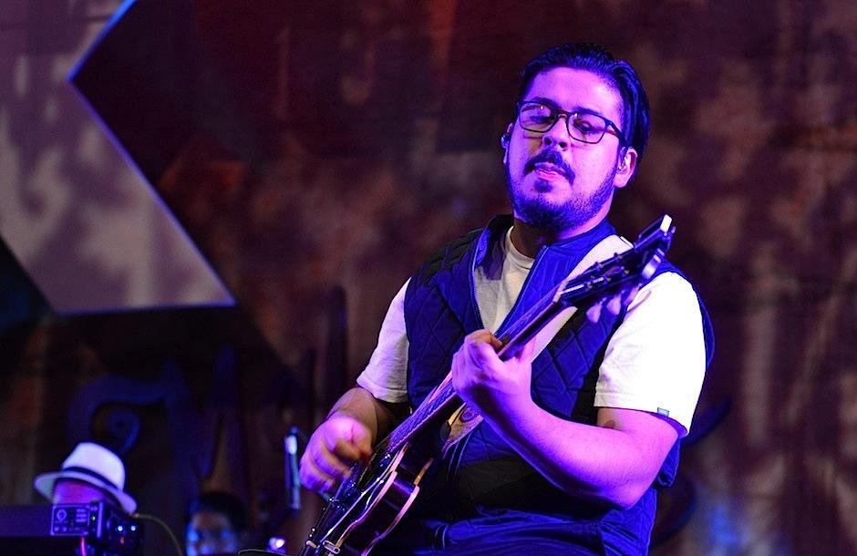 Chofo conquistó con sus acordes. (Foto: Selene Mejía/Soy502)