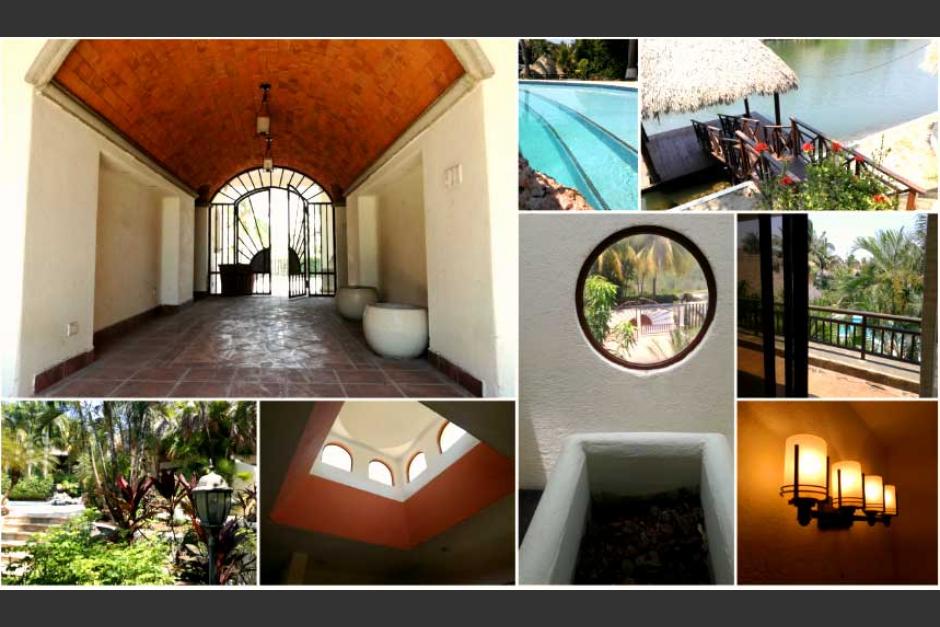 Esta es la casa de descanso que las autoridades le quitaron a Baldetti. (Foto: archivo/Soy502)