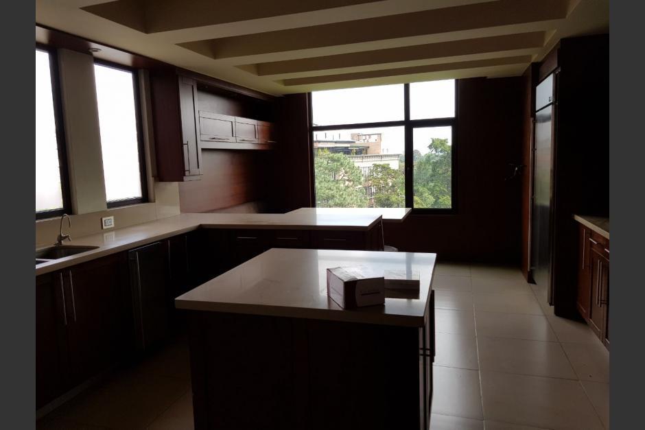 Este es el interior del apartamento que recientemente pasó al Estado. (Foto: Ministerio Público)