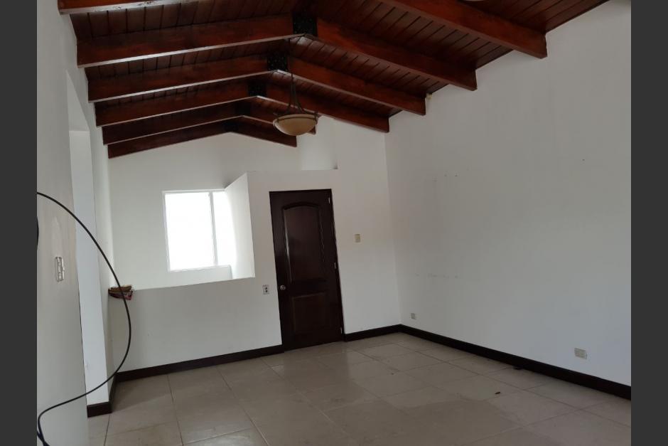 Así es la casa ubicada en la colonia Lomas de Pamplona en la zona 13. (Foto: Ministerio Público)