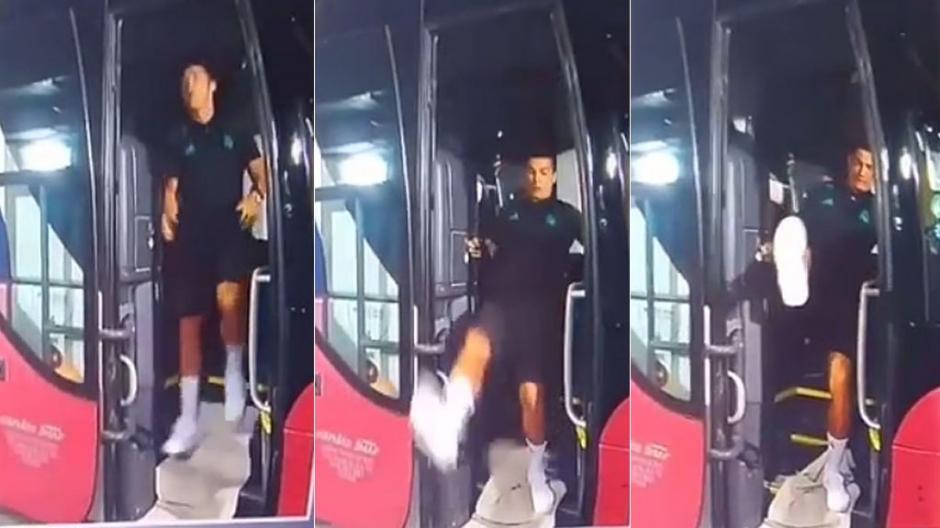 YouTube | Así fue el reencuentro entre Cristiano Ronaldo y José Mourinho