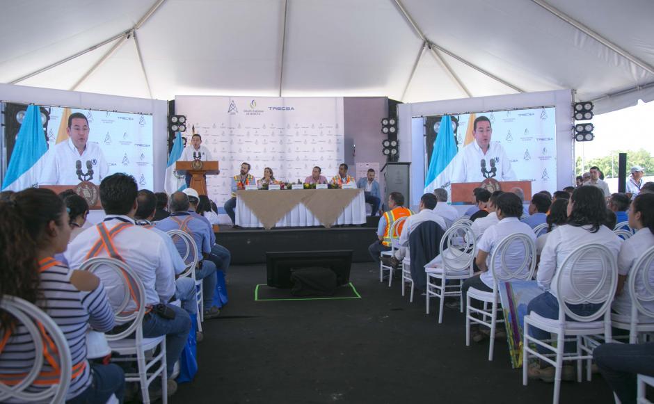 La ceremonia se realizó en Santa Lucia Cotzumalguapa, Escuintla. (Foto: Víctor Xiloj/Soy502)