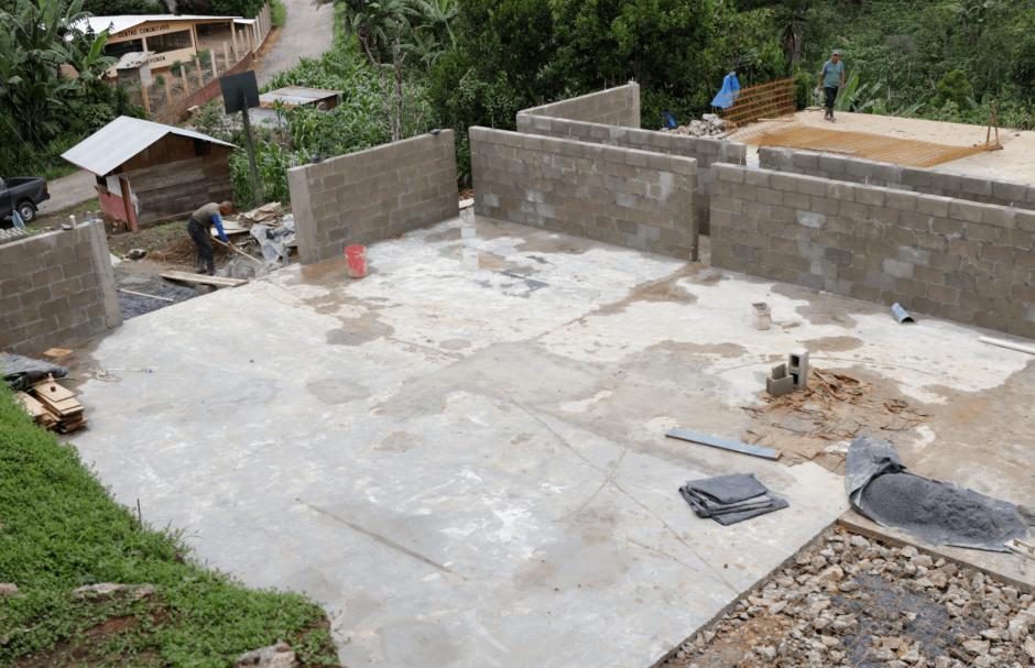 La cooperativa está construyendo sus instalaciones. (Foto: Alejandro Balán/Soy502)