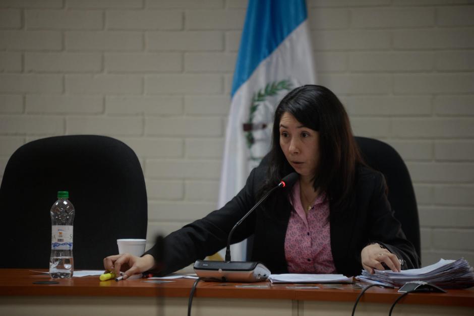 La jueza Erika Aifán es la titular del Juzgado de Mayor Riesgo D. (Foto: archivo/Soy502)