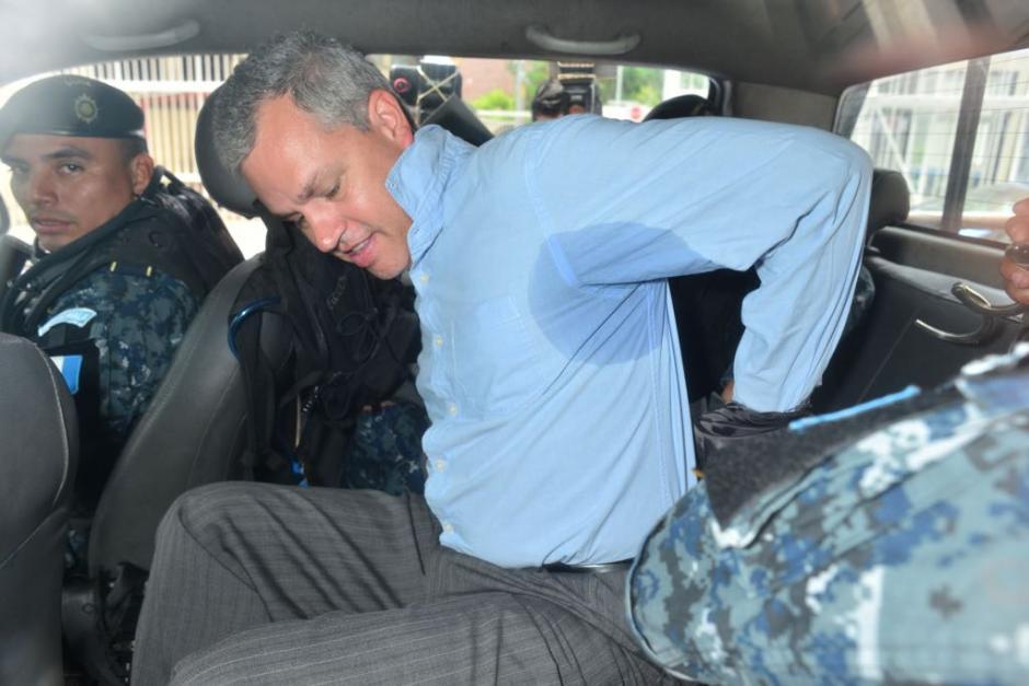 El diputado fue enviado a la prisión de Matamoros. (Foto: Jesús Alfonso/Soy502)
