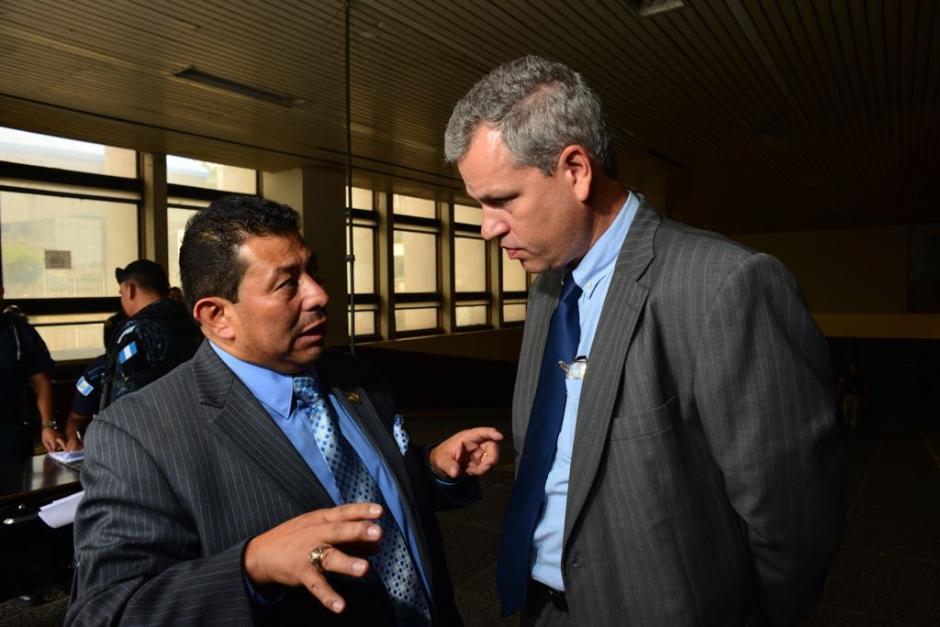 A Boussinot solo le hicieron saber los motivos de su detención. (Foto: Jesús Alfonso/Soy502)