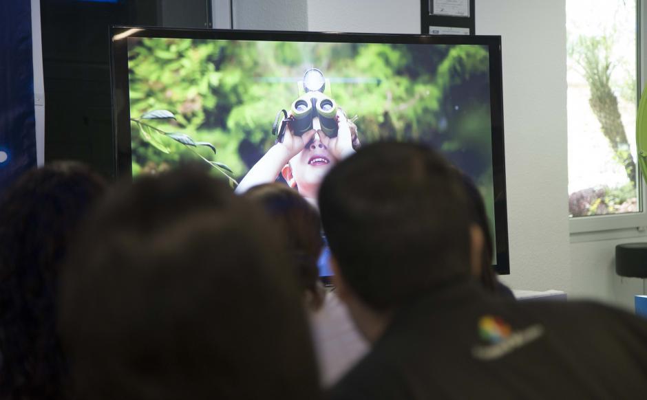 Es la nueva televisión y el futuro digital que ofrece una experiencia en alta definición. (Foto: Víctor Xiloj/Soy502)