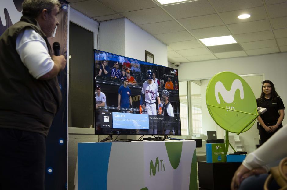 Se realizó una demostración en la nueva plataforma Movistar TV HD. (Foto: Víctor Xiloj/Soy502)