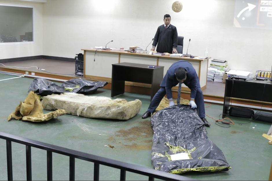 El MP presentó nueva evidencia del caso Hogar Seguro. (Foto: Alejandro Balán/Soy502)