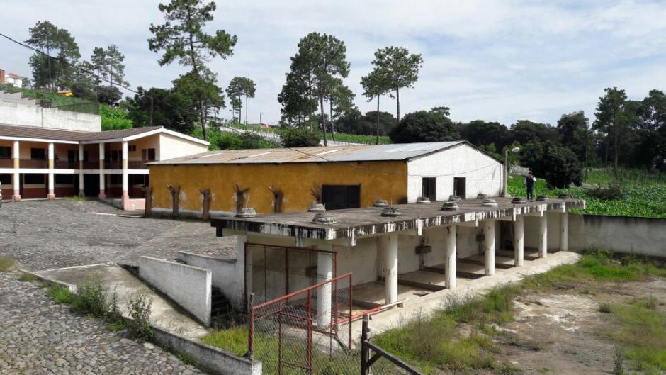 La edificación se ubica en Santo Domingo Xenacoj, Sacatepéquez. (Foto: MP)