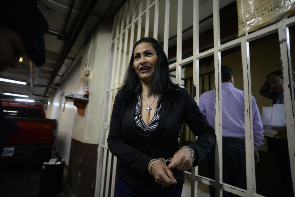 Lo único que dijo Marixa Lemus fue que su salud es estable. (Foto: Wilder López/Soy502)