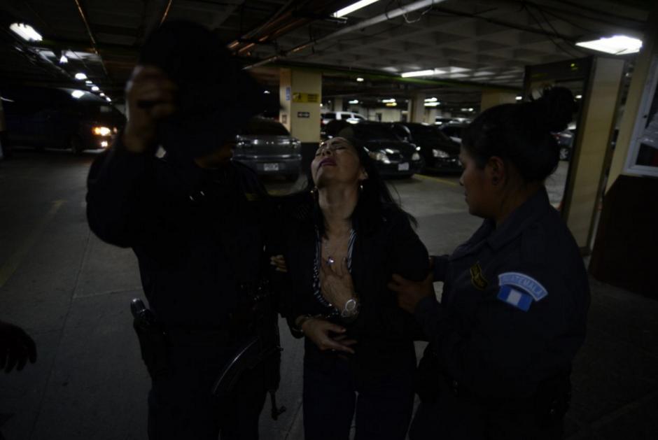 Todo ocurrió en el sótano de la Torre de Tribunales. (Foto: Wilder López/Soy502)