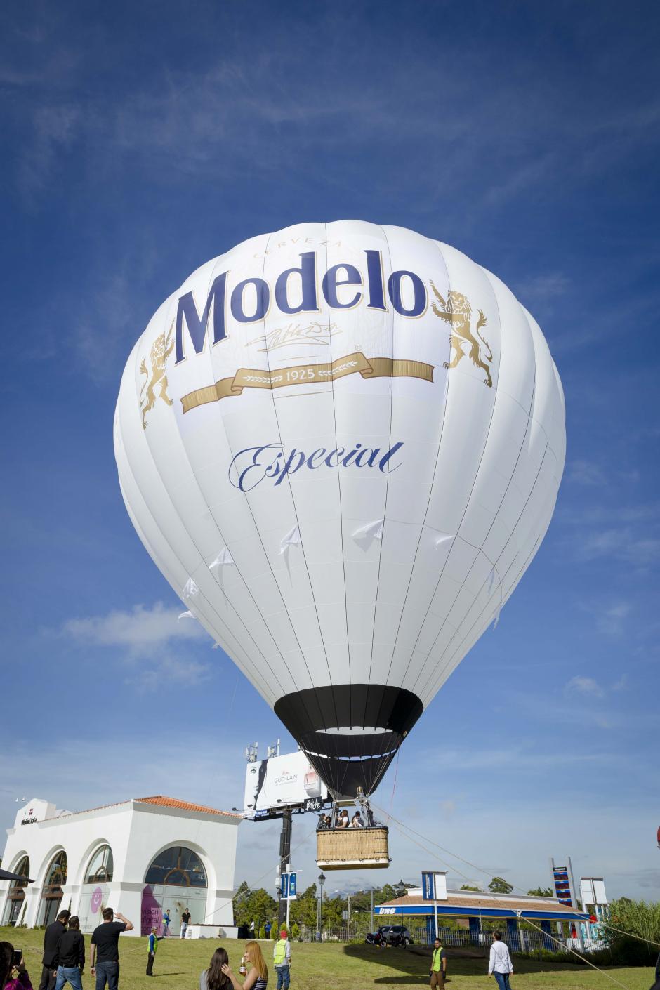 La ubicación del globo aerostático en la ciudad está pendiente de confirmar. (Foto: George Rojas/Soy502)