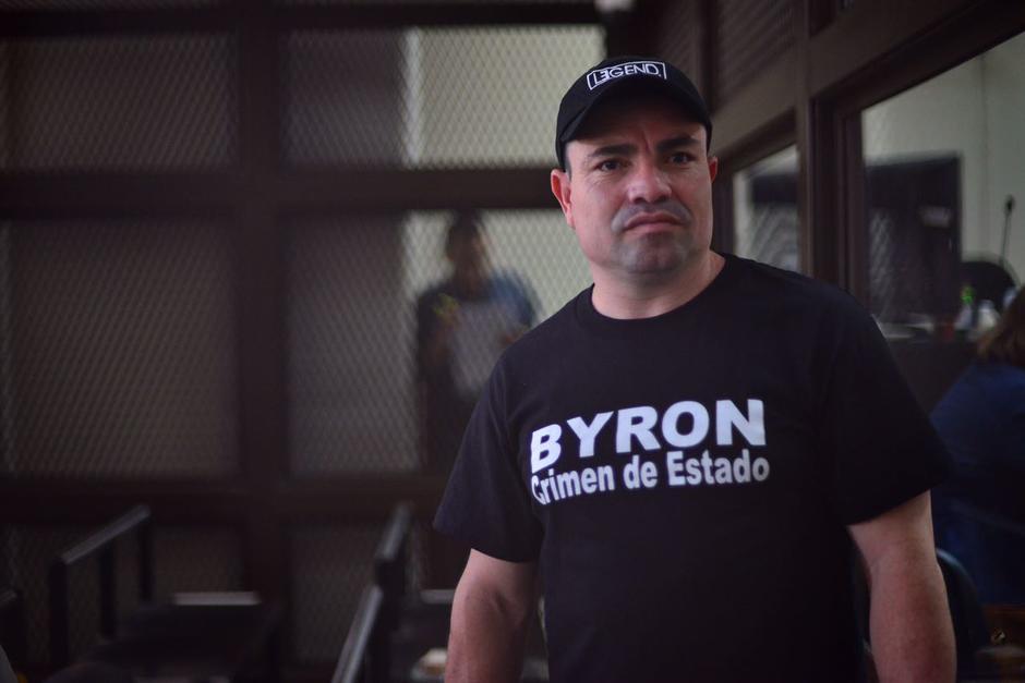 """Marvin Montiel Marín """"El Taquero"""" fue trasladado a la Torre de Tribunales. (Foto: Jesús Alfonso/Soy502)"""