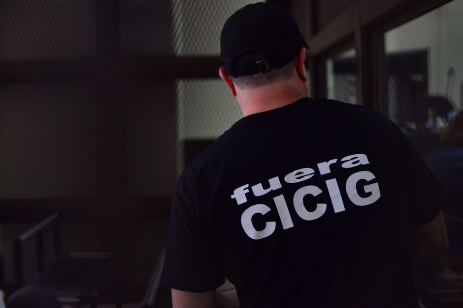 El narcotraficante vistió una playera con ese mensaje. (Foto: Jesús Alfonso/Soy502)