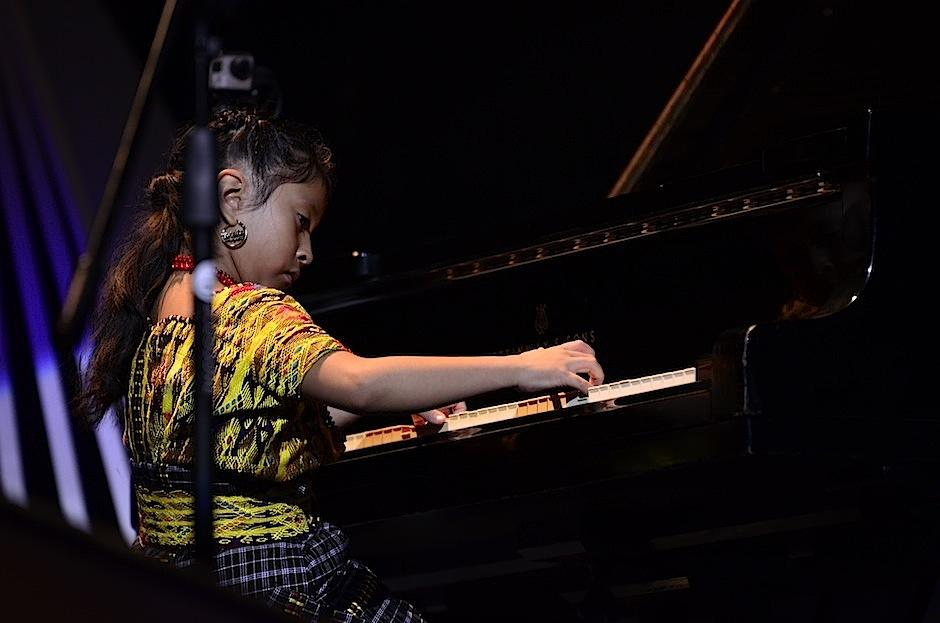 A sus 7 años es un prodigio del piano. (Foto: Selene Mejía/Soy502)