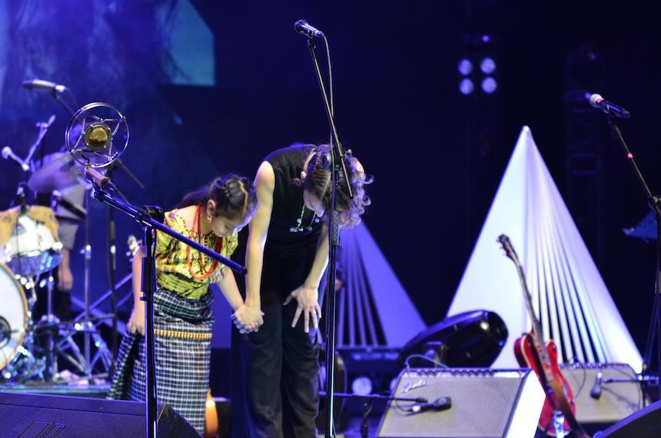 Las dos músicos direon una velada inolvidable. (Foto: Selene Mejía/Soy502)