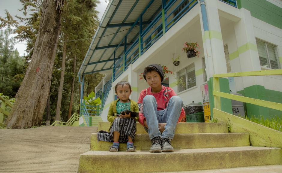 La educación es un eje importante del proyecto. (Foto: Víctor Xiloj/Soy502)