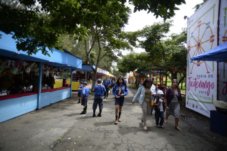 Los guatemaltecos disfrutarán de la feria de Jocotenango. (Foto: Wilder López/Soy502)
