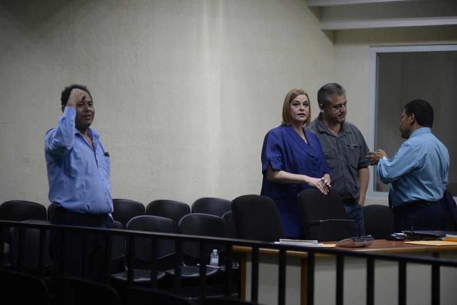 Organizaciones querellantes pidieron que Anahí Keller, Santos Torres y Carlos Rodas enfrenten juicio por lo ocurrido en el Hogar Seguro. (Foto: Wilder López/Soy502)