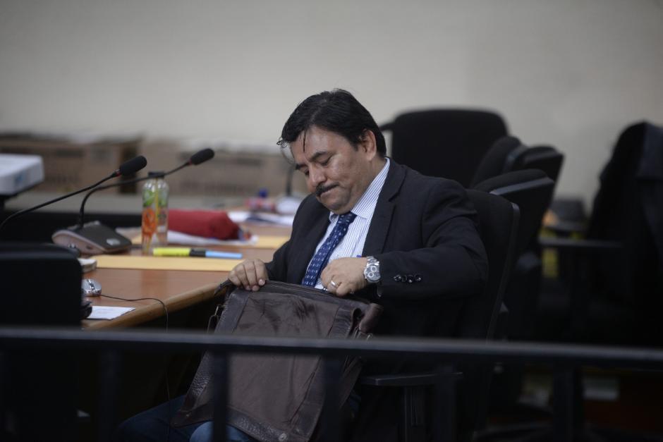 Uno de los querellantes, que representa a 11 víctimas, objetó la acusación presentada por el Ministerio Público. (Foto: Wilder López/Soy502)