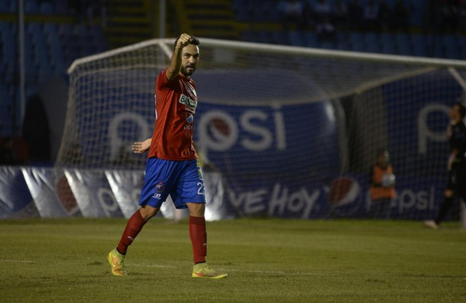 El mexicano logró el gol que mantuvo a Municipal con la ventaja. (Foto: Wilder López/Soy502)