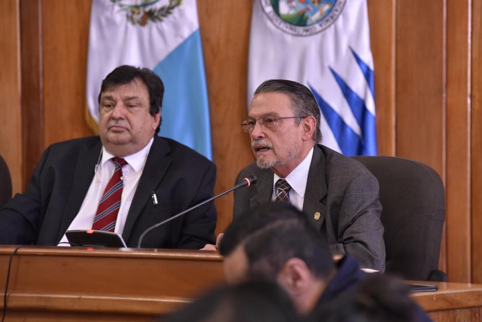 Luis Felipe Irias reconoció que pudo haber cometido una mala interpretación de una opinión jurídica. (Foto: Anyelo García/Nuestro Diario)