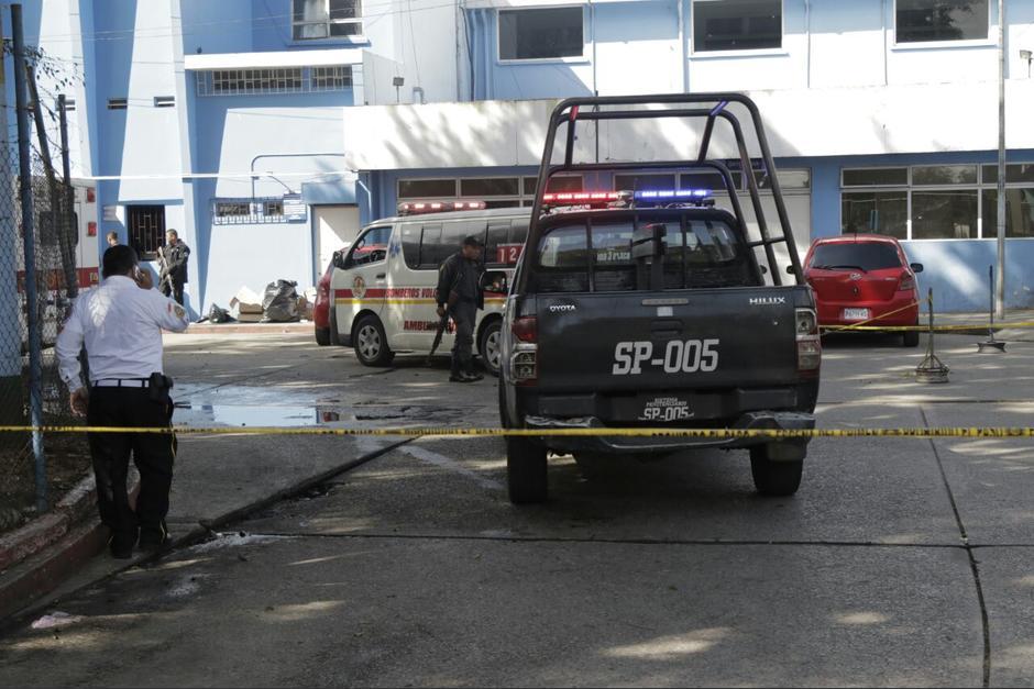 Según las autoridades, el ataque fue contra elementos del SP. (Foto: Alejandro Balán/Soy502)