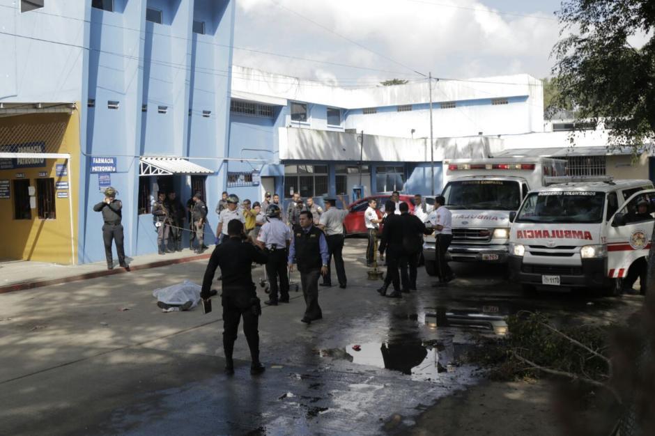 La PNC reportó cinco capturados. (Foto: Alejandro Balán/Soy502)