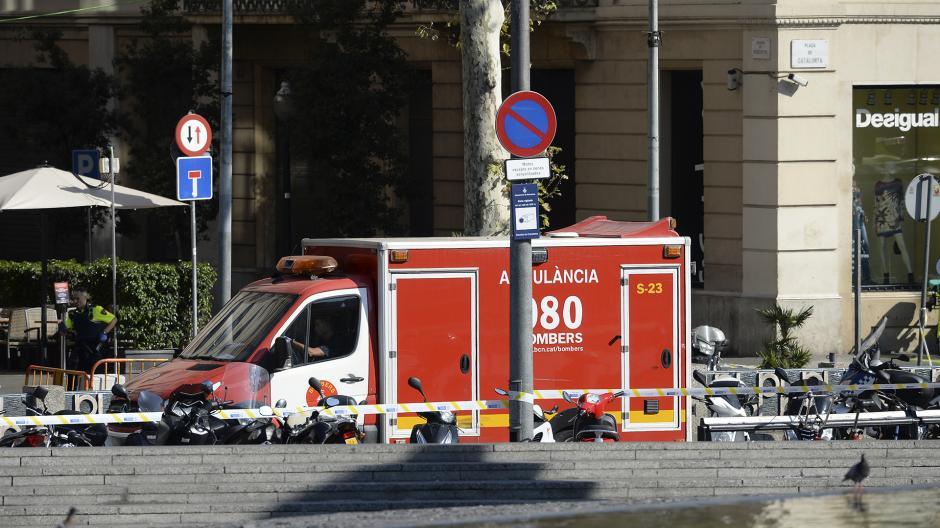 Decenas de personas fueron embestidas por el vehículo. (Foto: AFP)