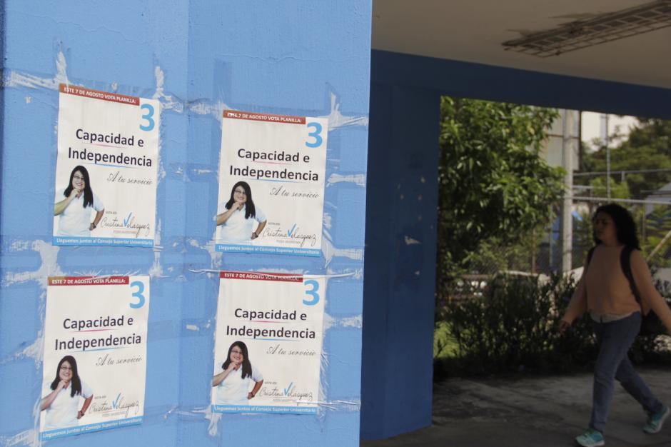 21 mil estudiantes podrán participar en el sufragio universitario. (Foto: Fredy Hernández/Soy502)