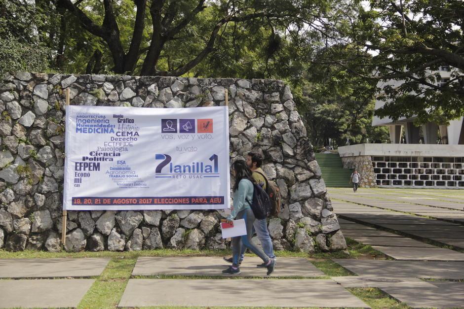 El proceso electoral en la Usac espera encontrar una nueva generación de líderes sancarlistas. (Foto: Fredy Hernández/Soy502)