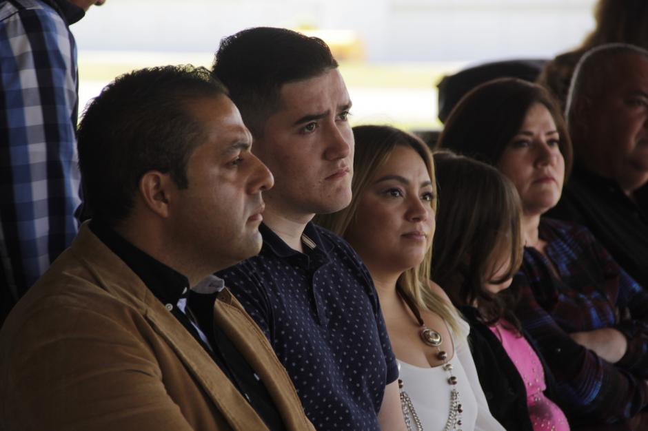 La familia de Julio estuvo a su lado y fue el aliento para que él luchara por vivir. (Foto: Fredy Hernández/Soy502)