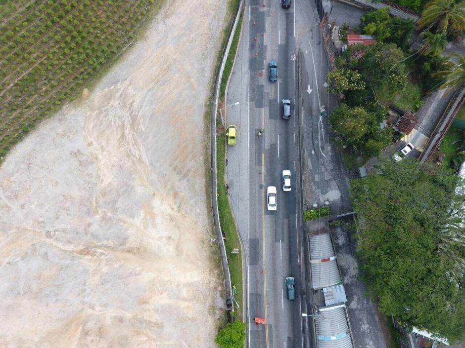 Solo un carril estará habilitado en ese lugar, según informaron las autoridades. (Foto: Facebook/ Amílcar Montejo)
