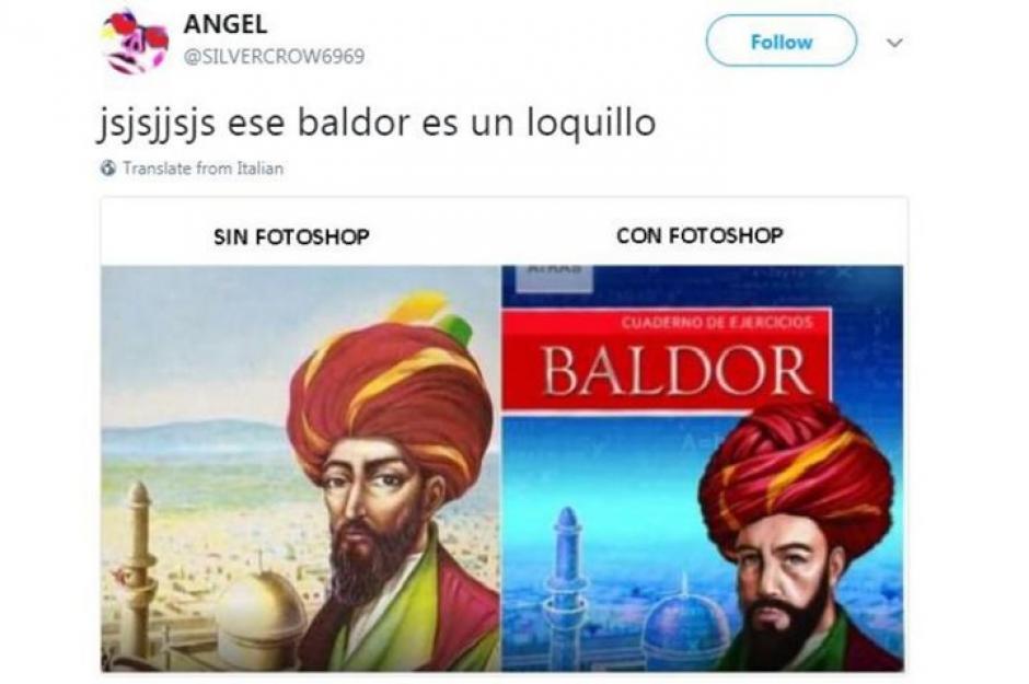 Con photoshop y sin photoshop. (Foto: Twitter)