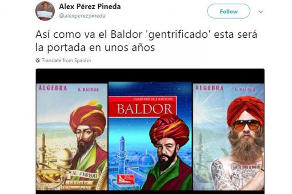 Cuando Baldor se volvió vegano y hipster. (Foto: Twitter)