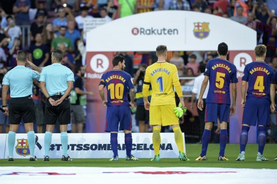 El juego contó con medidas estrictas de ingreso.(Foto: AFP)