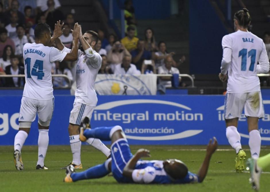 La victoria los coloca en el primer lugar de La Liga. (Foto: AFP)