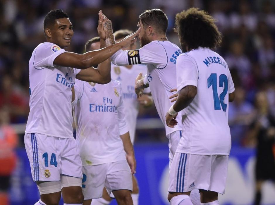 El Madrid brilló sin la presencia de Cristiano Ronaldo. (Foto: AFP)