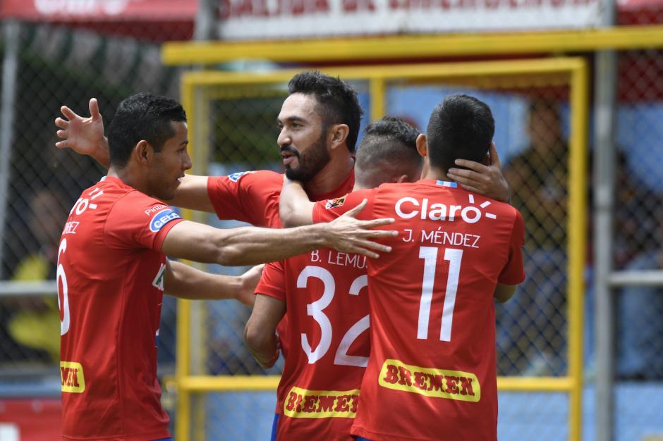 Carlos Kamiani Félix anotó el único gol con el que Municipal consiguió su segunda victoria de este torneo. (Foto: Byron de la Cruz/Nuestro Diario)