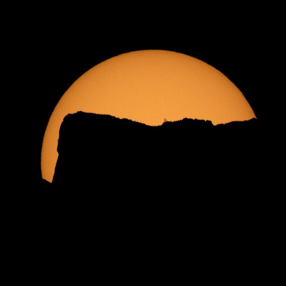 Varios estados en aquel país disfrutaron del evento. (Foto: AFP)