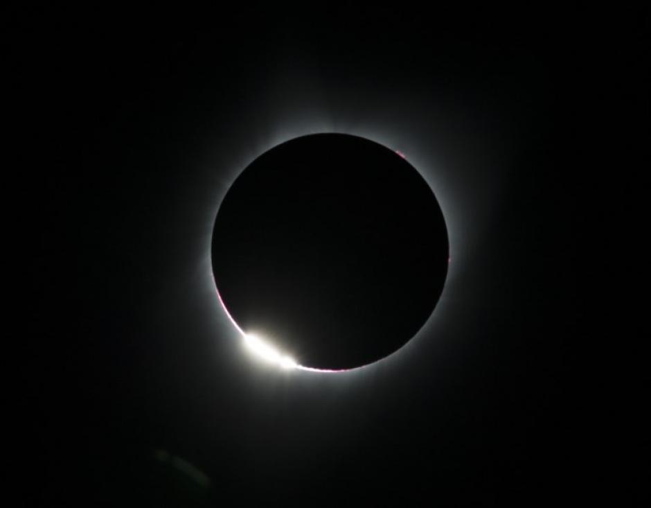 El eclipse total en Estados Unidos fue todo un espectáculo. (Foto: AFP)